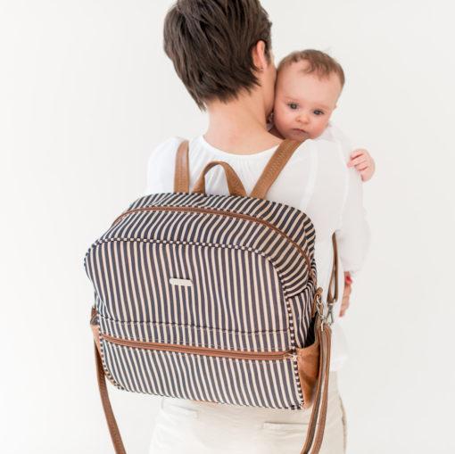 Nautical Trendy Baby Bag