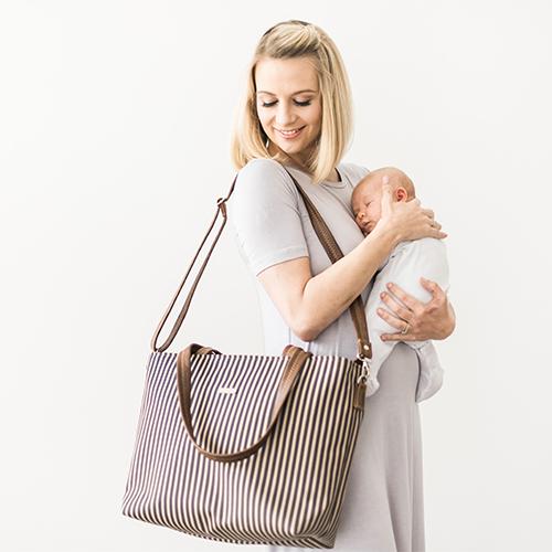Nautical Eezi Baby Bag