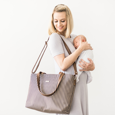 Nautical Eezi Baby Bag